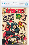 Silver Age (1956-1969):Superhero, The Avengers #4 Rocky Mountain pedigree (Marvel, 1964) CBCS NM+ 9.6Off-white to white pages....