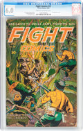 Golden Age (1938-1955):Adventure, Fight Comics #31 (Fiction House, 1944) CGC FN 6.0 Cream to off-white pages....