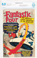 Silver Age (1956-1969):Superhero, Fantastic Four #3 (Marvel, 1962) CBCS VF 8.0 Off-white to white pages....