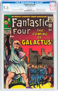 Silver Age (1956-1969):Superhero, Fantastic Four #48 (Marvel, 1966) CGC NM+ 9.6 White pages....
