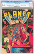 Golden Age (1938-1955):Science Fiction, Planet Comics #1 (Fiction House, 1940) CGC FN 6.0 Off-whitepages....
