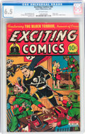 Golden Age (1938-1955):Superhero, Exciting Comics #39 (Nedor Publications, 1945) CGC FN+ 6.5Off-white pages....