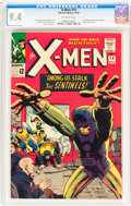 Silver Age (1956-1969):Superhero, X-Men #14 (Marvel, 1965) CGC NM 9.4 Off-white pages....