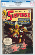Silver Age (1956-1969):Superhero, Tales of Suspense #42 (Marvel, 1963) CGC NM+ 9.6 Off-white to whitepages....