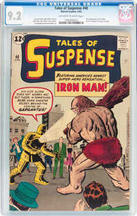 Tales of Suspense #40 (Marvel, 1963) CGC NM- 9.2 Off-white to white pages