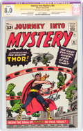 Silver Age (1956-1969):Superhero, Journey Into Mystery #83 Signature Series (Marvel, 1962) CGCApparent VF 8.0 Slight (P) Off-white to white pages....
