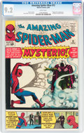 Silver Age (1956-1969):Superhero, The Amazing Spider-Man #13 (Marvel, 1964) CGC NM- 9.2 Whitepages....