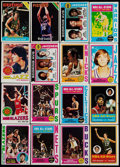 Basketball Cards:Lots, 1973-1978 Topps Basketball Stars & HoFers Collection (20)....