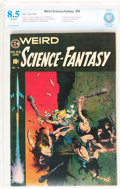 Golden Age (1938-1955):Science Fiction, Weird Science-Fantasy #29 (EC, 1955) CBCS VF+ 8.5 Off-whitepages....