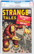 Silver Age (1956-1969):Adventure, Strange Tales #81 (Marvel, 1961) CGC VF- 7.5 Off-white to white pages....