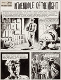 "Original Comic Art:Complete Story, Adolfo Buylla Ripley's Believe It or Not! #50 ""In the Middleof the Night"" Complete 8-Page Story Original Art (Gol... (Total: 8Original Art)"