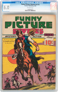 Golden Age (1938-1955):Western, Funny Picture Stories V3#2 (Comics Magazine, 1939) CGC FN 6.0Off-white pages....