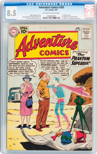 Adventure Comics #283 (DC, 1961) CGC VF+ 8.5 Off-white to white pages