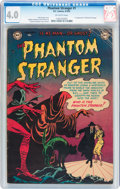 Golden Age (1938-1955):Horror, The Phantom Stranger #1 (DC, 1952) CGC VG 4.0 Off-white pages....