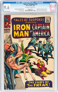 Tales of Suspense #75 (Marvel, 1966) CGC NM+ 9.6 Off-white to white pages