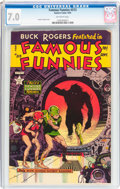Golden Age (1938-1955):Science Fiction, Famous Funnies #213 (Eastern Color, 1954) CGC FN/VF 7.0 Off-whitepages....