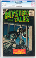 Silver Age (1956-1969):Horror, Mystery Tales #43 (Atlas, 1956) CGC VF- 7.5 Off-white pages....