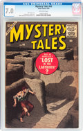 Golden Age (1938-1955):Horror, Mystery Tales #44 (Atlas, 1956) CGC FN/VF 7.0 Off-white pages....