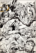 Original Comic Art:Splash Pages, Jack Kirby and Vince Colletta Thor #158 Splash Page 19Original Art (Marvel, 1968)....