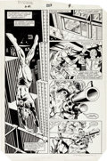 Original Comic Art:Panel Pages, David Mazzucchelli and Kim DeMulder Daredevil #223 Page 9Original Art (Marvel, 1985)....