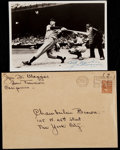 Autographs:Bats, 1940 Joe DiMaggio Signed Photograph....