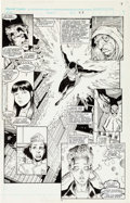 Original Comic Art:Panel Pages, Art Adams X-Men Annual #14 Page 8 Original Art (Marvel,1990). ...