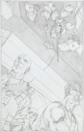 Original Comic Art:Splash Pages, Javier Saltares G.I. Joe #29 Page 22 Unpublished Splash PageOriginal Art (undated)....