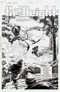 Original Comic Art:Splash Pages, Jim Aparo and Gerry Fernandez Green Arrow #83 Splash Page 1Original Art (DC, 1994)....