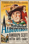 """Movie Posters:Western, Albuquerque (Paramount, 1948). One Sheet (27"""" X 41""""). Western.. ..."""
