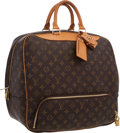 "Luxury Accessories:Accessories, Louis Vuitton Classic Monogram Canvas Evasion Travel Bag .Excellent Condition . 16"" Width x 13.5"" Height x 9"" Depth, 4""H..."