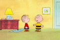 Animation Art:Production Cel, The Charlie Brown and Snoopy Show Charlie Brown and LinusProduction Cel Setup and Drawing Group of 4 (Bill Melend... (Total:4 Original Art)
