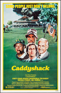 """Caddyshack (Orion, 1980). One Sheet (27"""" X 41""""). Comedy"""