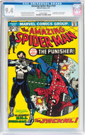 Bronze Age (1970-1979):Superhero, The Amazing Spider-Man #129 (Marvel, 1974) CGC NM 9.4 Off-white towhite pages....