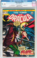 Bronze Age (1970-1979):Horror, Tomb of Dracula #10 (Marvel, 1973) CGC NM 9.4 Cream to off-whitepages....