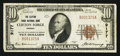 National Bank Notes:Virginia, Clifton Forge, VA - $10 1929 Ty. 1 The Clifton Forge NB Ch. # 9177....