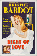 """Movie Posters:Foreign, Night of Love (Howco, 1960). One Sheet (27"""" X 41""""). Foreign.. ..."""