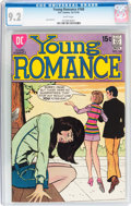 Bronze Age (1970-1979):Romance, Young Romance #168 (DC, 1970) CGC NM- 9.2 White pages....