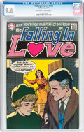 Bronze Age (1970-1979):Romance, Falling in Love #115 (DC, 1970) CGC NM+ 9.6 Off-white to whitepages....