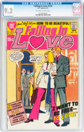 Bronze Age (1970-1979):Romance, Falling in Love #122 (DC, 1971) CGC NM- 9.2 Off-white to whitepages....
