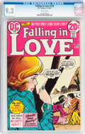 Bronze Age (1970-1979):Romance, Falling in Love #138 (DC, 1972) CGC NM- 9.2 White pages....