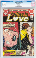 Bronze Age (1970-1979):Romance, Falling in Love #141 (DC, 1973) CGC NM 9.4 White pages....
