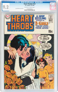 Silver Age (1956-1969):Romance, Heart Throbs #122 (Quality/DC, 1969) CGC NM- 9.2 Off-white to whitepages....