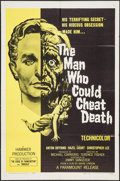 """Movie Posters:Horror, The Man Who Could Cheat Death (Paramount, 1959). One Sheet (27"""" X 41""""). Horror.. ..."""