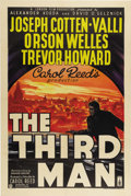"""Movie Posters:Film Noir, The Third Man (London Films, 1949) British One Sheet (27"""" X 40""""). Here is a real rarity! A London Films British original for..."""