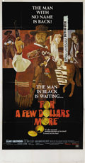 """Movie Posters:Western, For a Few Dollars More (United Artists, 1967). Three Sheet (41"""" X81""""). Clint Eastwood and Lee Van Cleef star in this classi..."""