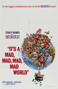 """Movie Posters:Comedy, It's a Mad , Mad, Mad, Mad World (United Artists, 1964). One Sheet(27"""" X 41"""") Cinerama Style. An amazing cast is assembled ..."""
