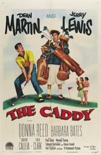 """The Caddy (Paramount, 1953). One Sheet (27"""" X 41""""). This film's most enduring contribution was originating the..."""