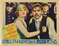 """The Prizefighter and the Lady (MGM, 1933). Lobby Cards (4) (11"""" X 14""""). These lobby cards have just the slight..."""