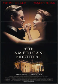 "The American President (Columbia, 1995). One Sheet (27"" X 40"") SS. Romance"