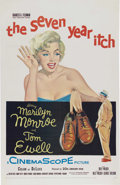 "Movie Posters:Comedy, The Seven Year Itch (20th Century Fox, 1955). One Sheet (27"" X41""). Marilyn Monroe was cast as the temptress to Tom Ewell's..."